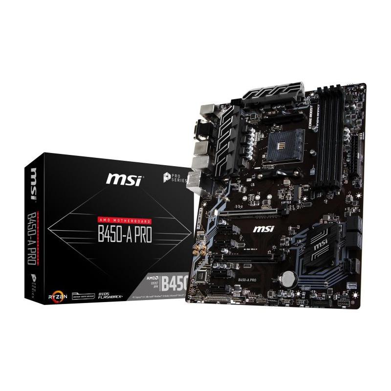 Placa de baza MSI B450-A PRO socket AM4
