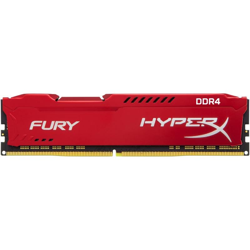 Memorie Desktop Kingston HyperX Fury HX424C15FR2/8 8GB DDR4 2400MHz Red