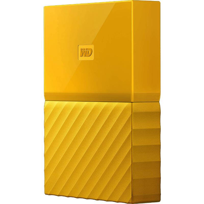 Hard Disk Extern Western Digital My Passport 2TB USB 3.0 2.5 Yellow