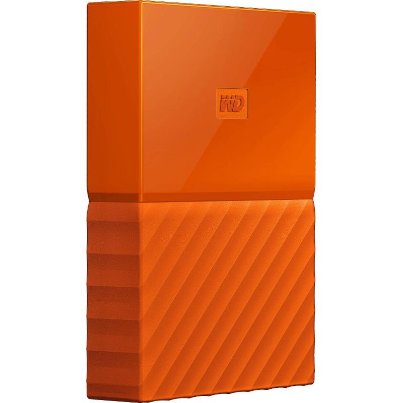 Hard Disk Extern Western Digital My Passport 2TB USB 3.0 2.5 Orange
