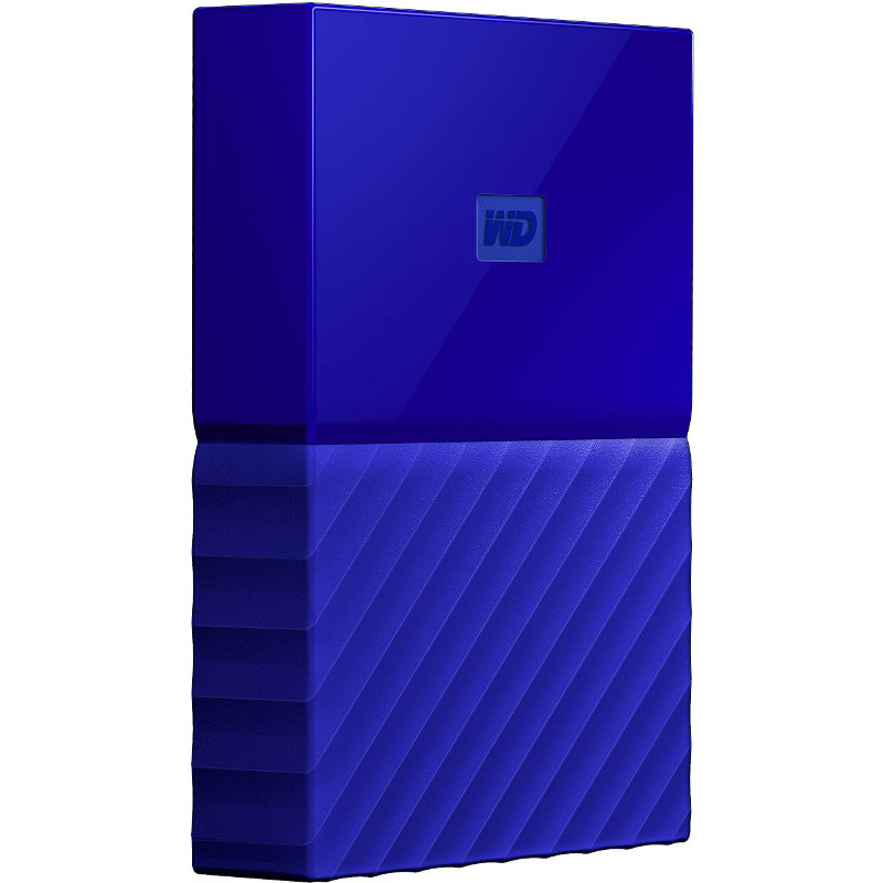 Hard Disk Extern Western Digital My Passport 2TB USB 3.0 2.5 Blue
