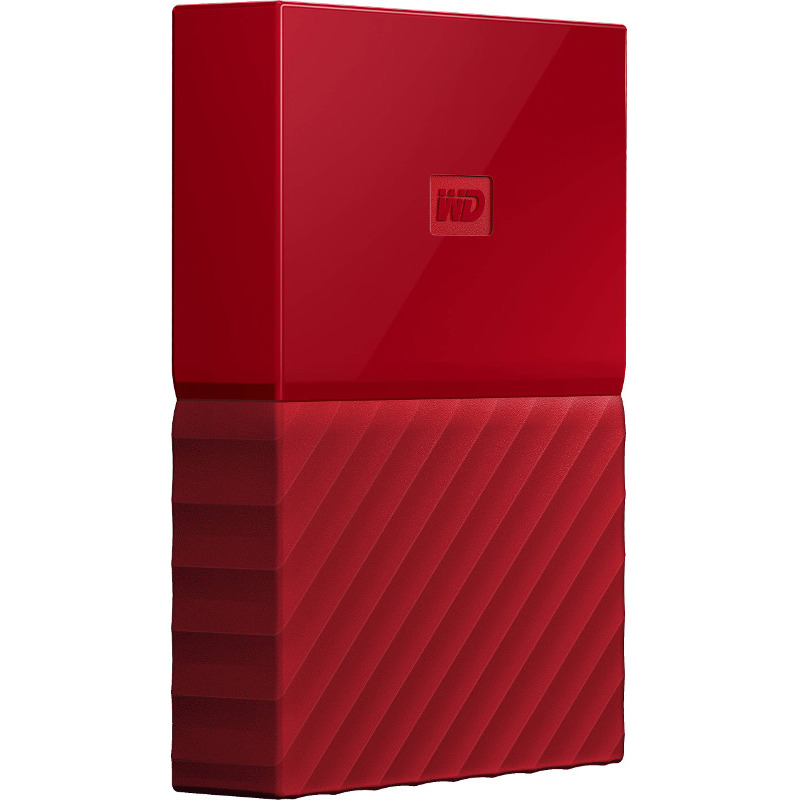 Hard Disk Extern Western Digital My Passport 2TB USB 3.0 2.5 Red