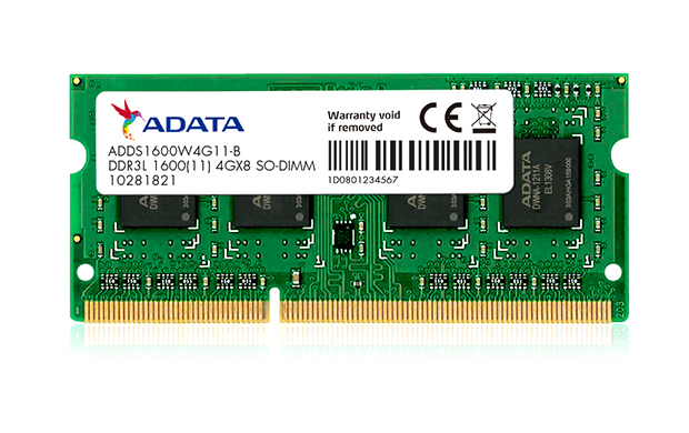 Memorie Notebook A-Data 8GB DDR3L 1600MHz