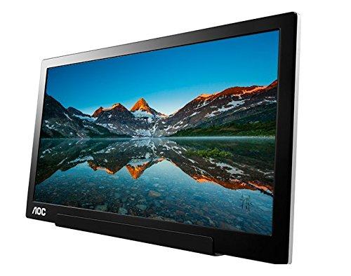 Monitor LED AOC I1601FWUX 15.6 Full HD 5ms Negru