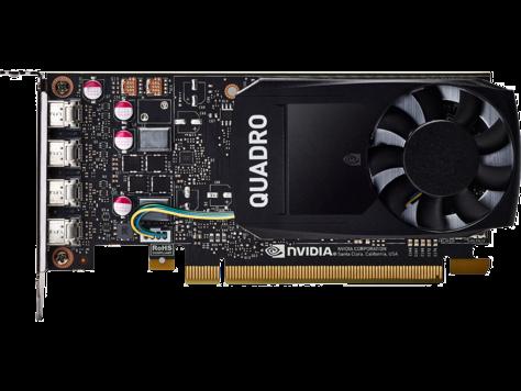 Placa Video HP nVidia Quadro P1000 4GB GDDR5 128 biti