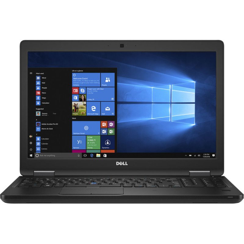 Notebook Dell Precision 3530 15.6 Full HD Intel Core i7-8750H Quadro P600-4GB RAM 16GB SSD 512GB Windows 10 Pro