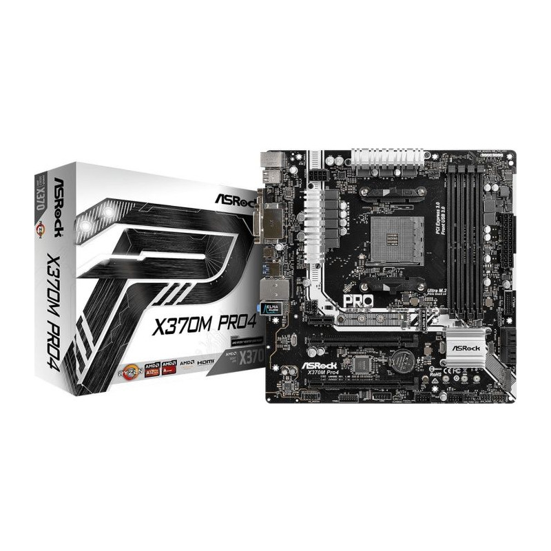 Placa de baza Asrock X370M PRO4 socket AM4