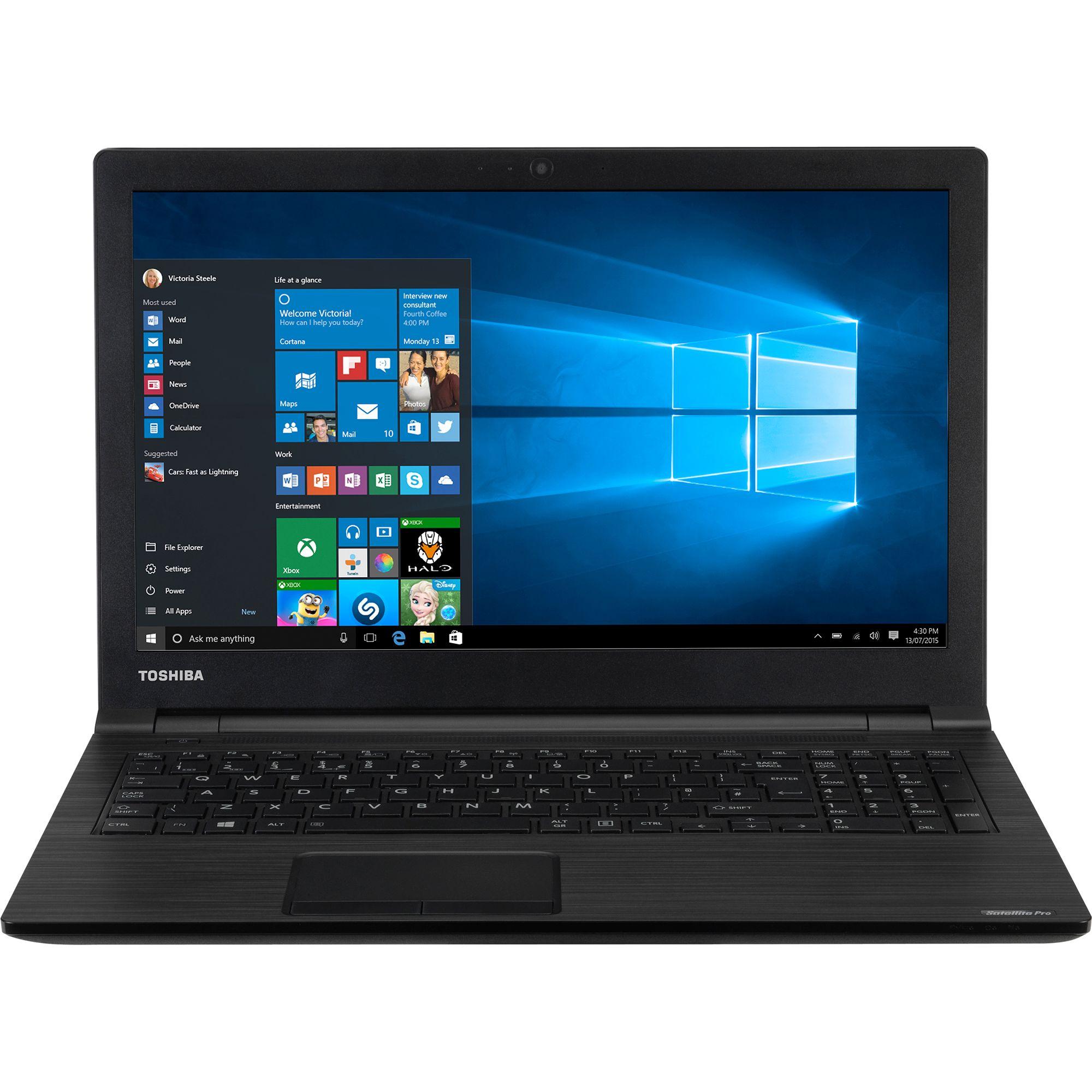 Notebook Toshiba Satellite Pro A50-E-10W 15.6 Full HD Intel Core i7-8550U RAM 8GB SSD 512GB Windows 10 Pro Negru