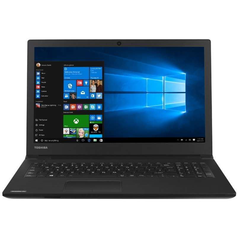 Notebook Toshiba Satellite Pro R50-E-107 15.6 HD Intel Core i3-7130U RAM 4GB HDD 500GB Windows 10 Pro Negru