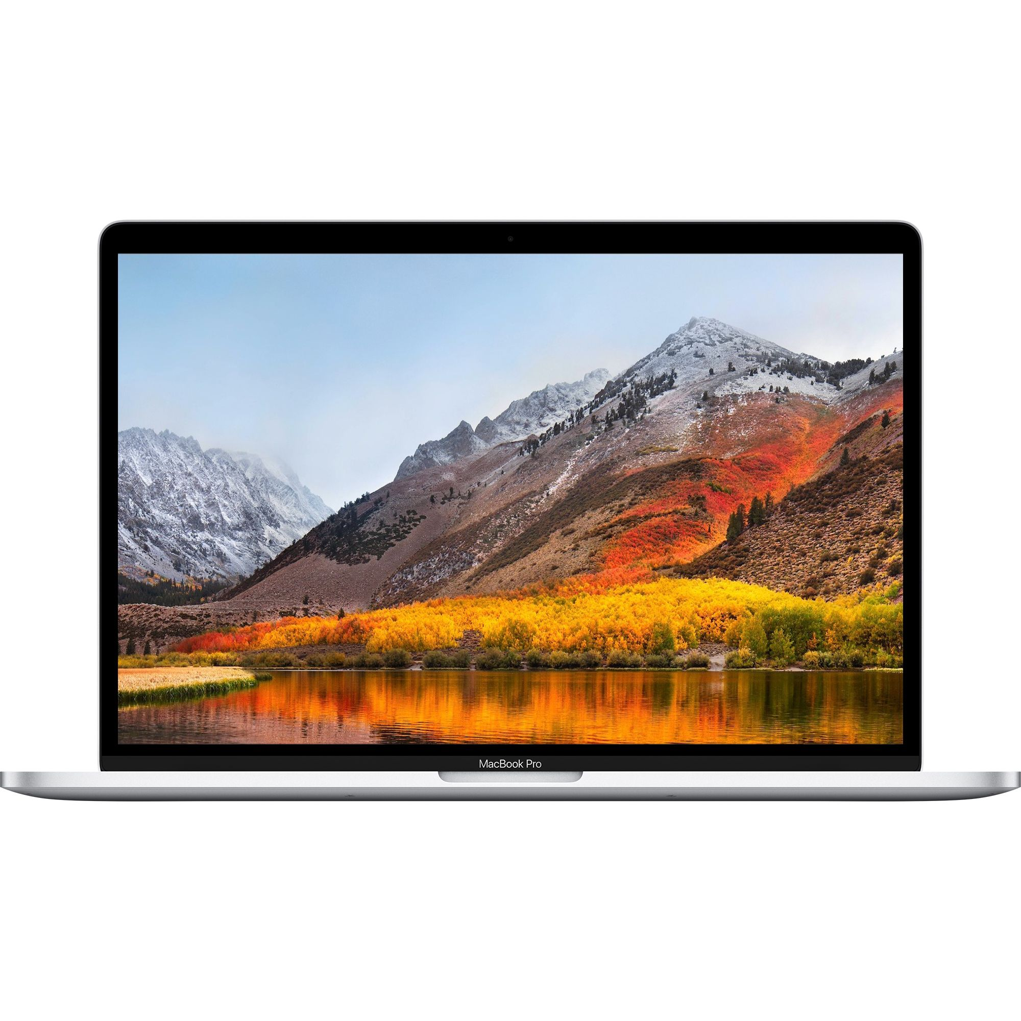 Notebook Apple MacBook Pro 2018 15.4 Retina Touch Bar Intel Core i7 2.6 GHz Radeon Pro 560X-4GB RAM 16GB SSD 512GB Tastatura INT Silver