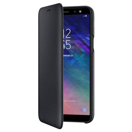 Husa Flip Samsung Wallet Cover Samsung EF-WA600 pentru Galaxy A6 2018 (A600) Black