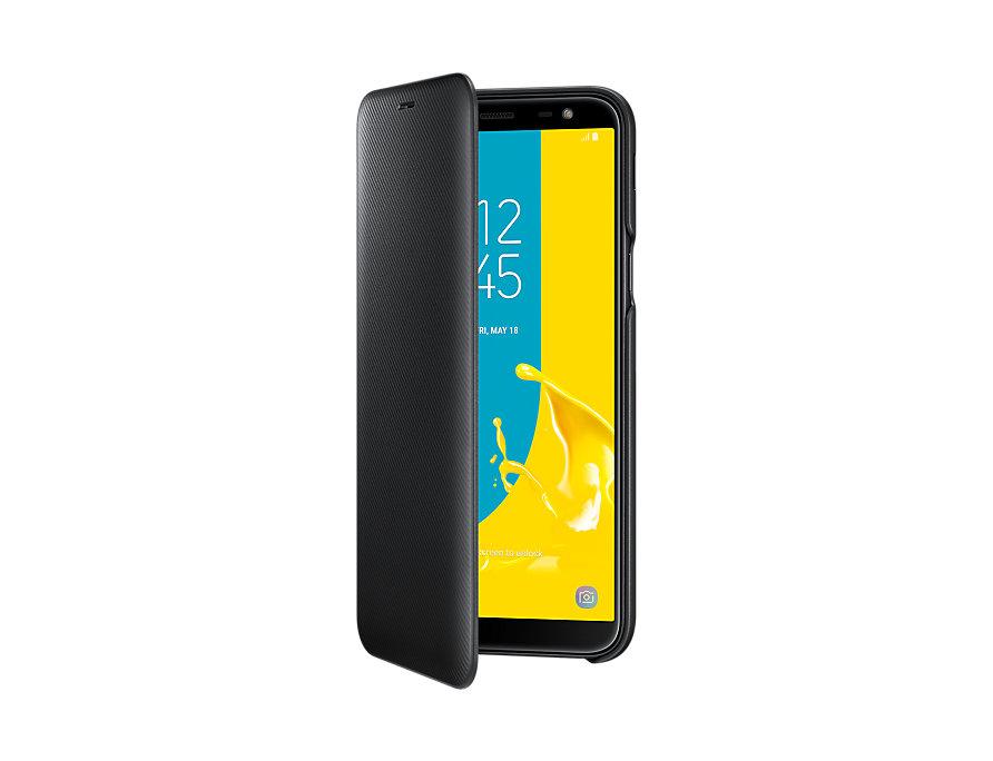 Husa Flip Samsung Wallet Cover EF-WJ600 pentr Galaxy J6 2018 (J600) Black