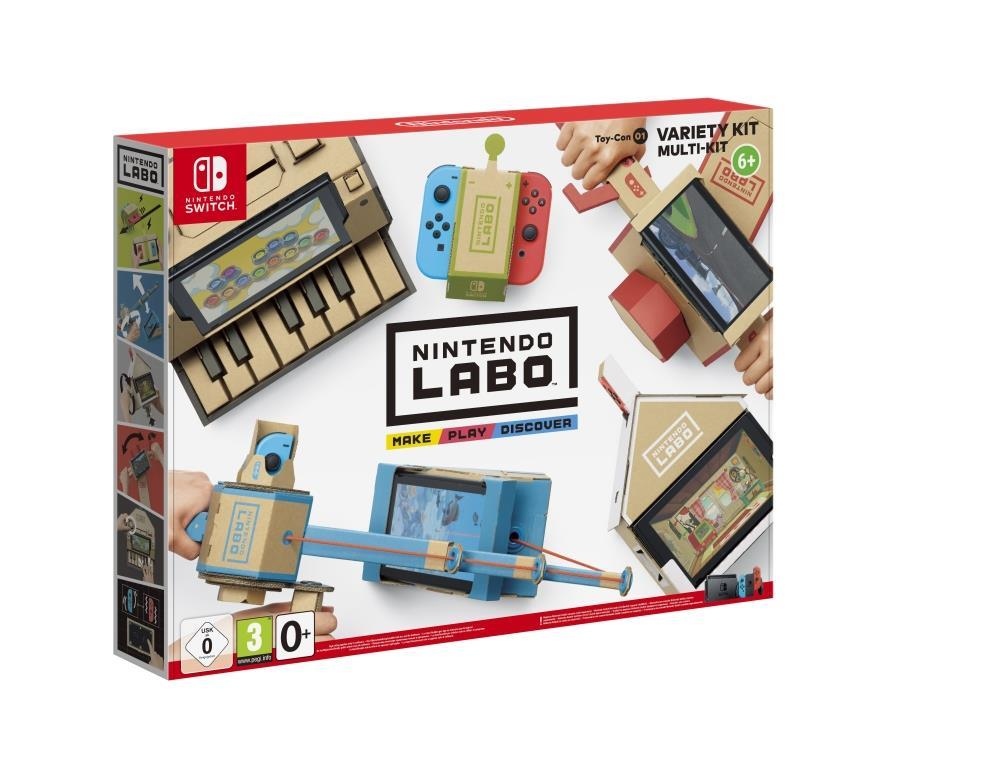 Nintendo Labo Toy-Con 01 Variety KIT - Nintendo Switch