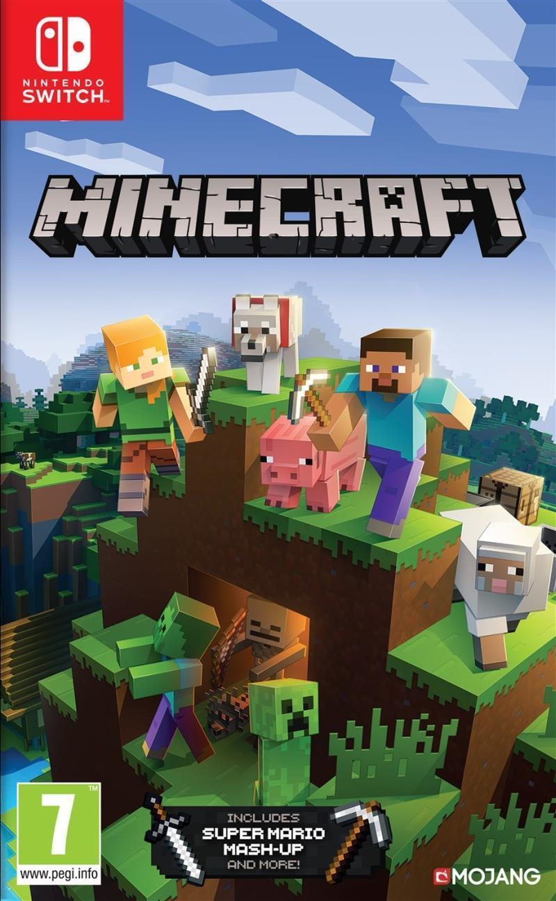 Minecraft Switch Bedrock Edition - Nintendo Switch