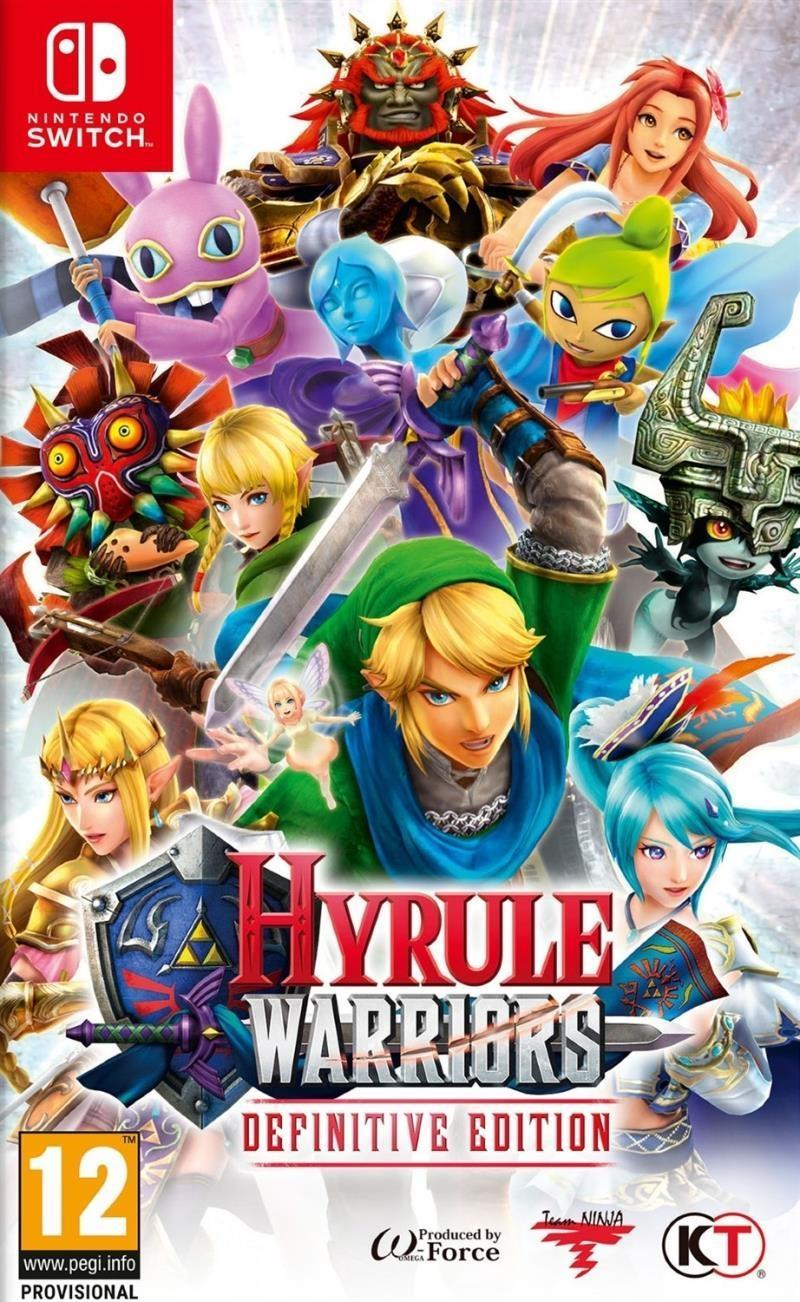Hyrule Warriors Definitive Edition - Nintendo Switch