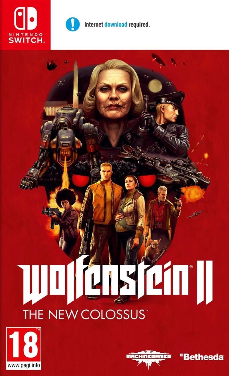 Wolfenstein 2 The New Colossus - Nintendo Switch