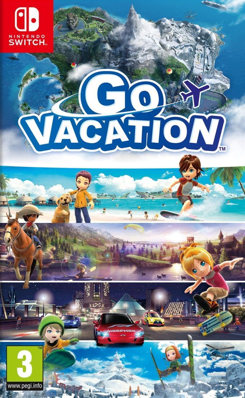 Go Vacantion - Nindendo Switch