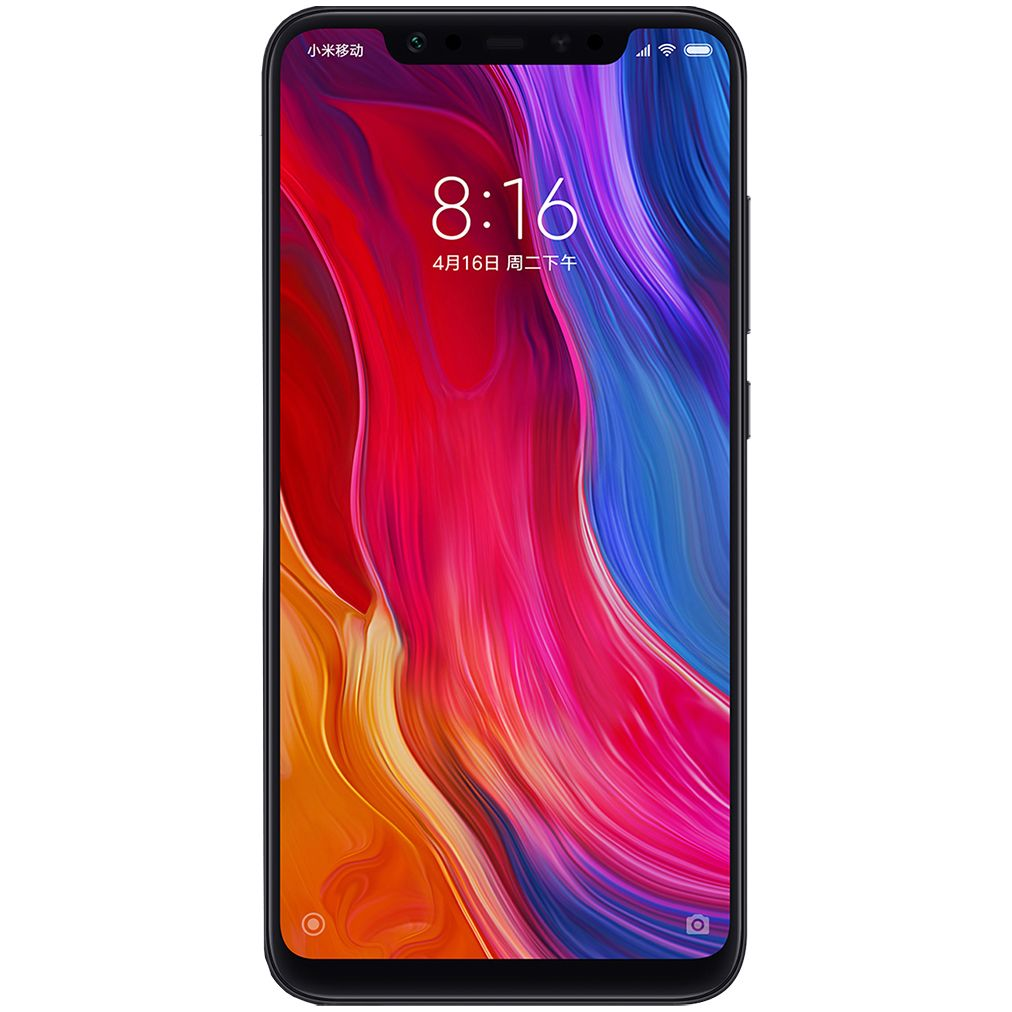 Telefon Mobil Xiaomi Mi 8 64GB Flash 6GB RAM Dual SIM 4G Black