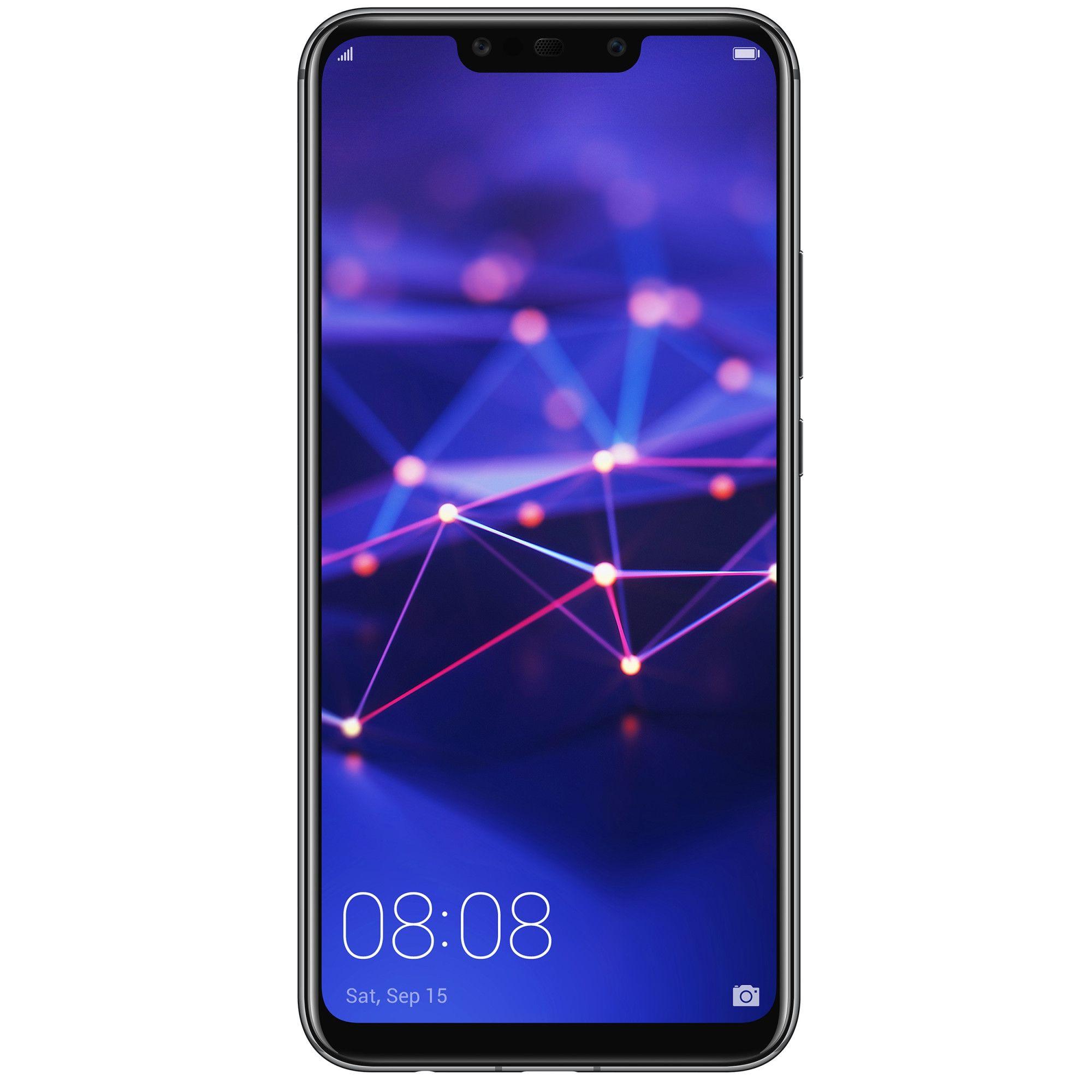 Telefon Mobil Huawei Mate 20 Lite 64GB Flash 4GB RAM Dual SIM 4G Black