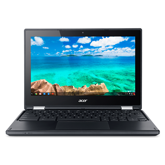 Ultrabook Acer Chromebook 11 C738T 11.6 HD Intel Celeron N3160 RAM 4GB eMMC 64GB Chrome OS Negru