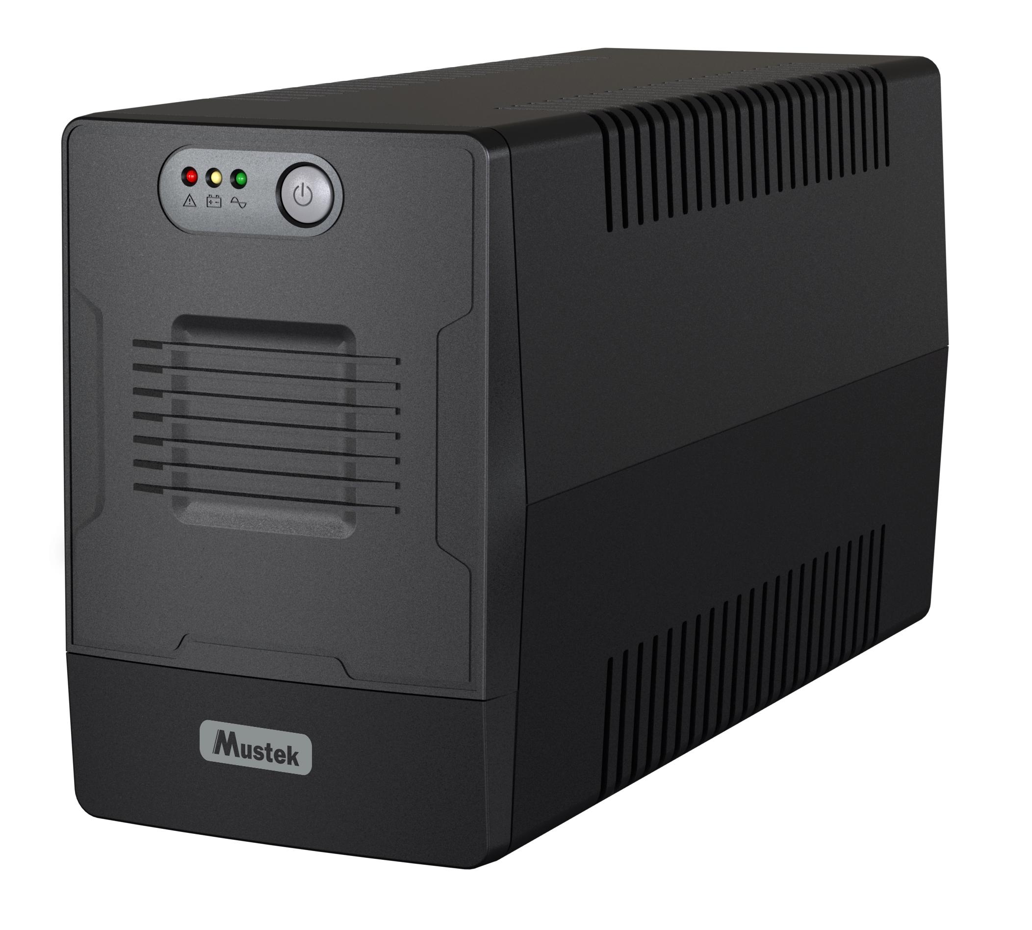 UPS Mustek PowerMust 2000 Line Interactive 2000VA/1200W 4xSchuko