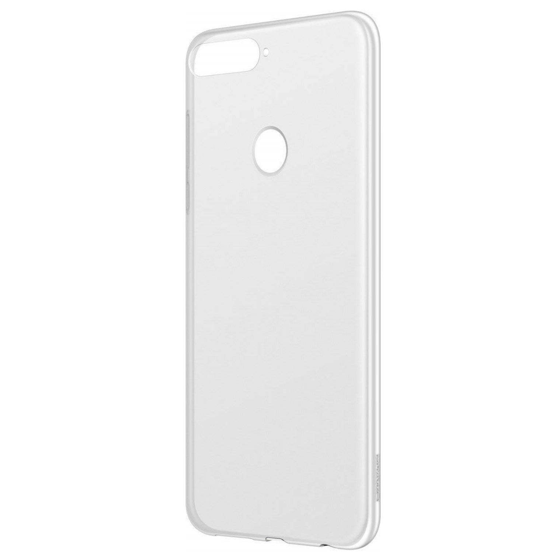 Capac protectie spate transpartent pentru Huawei Y7 (2018)