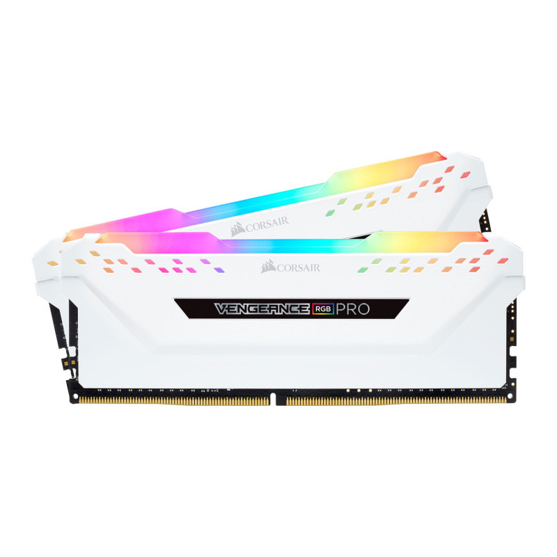 Memorie Desktop Corsair Vengeance RGB PRO 32GB(2 x 16GB) DDR4 3200MHz CL15 White
