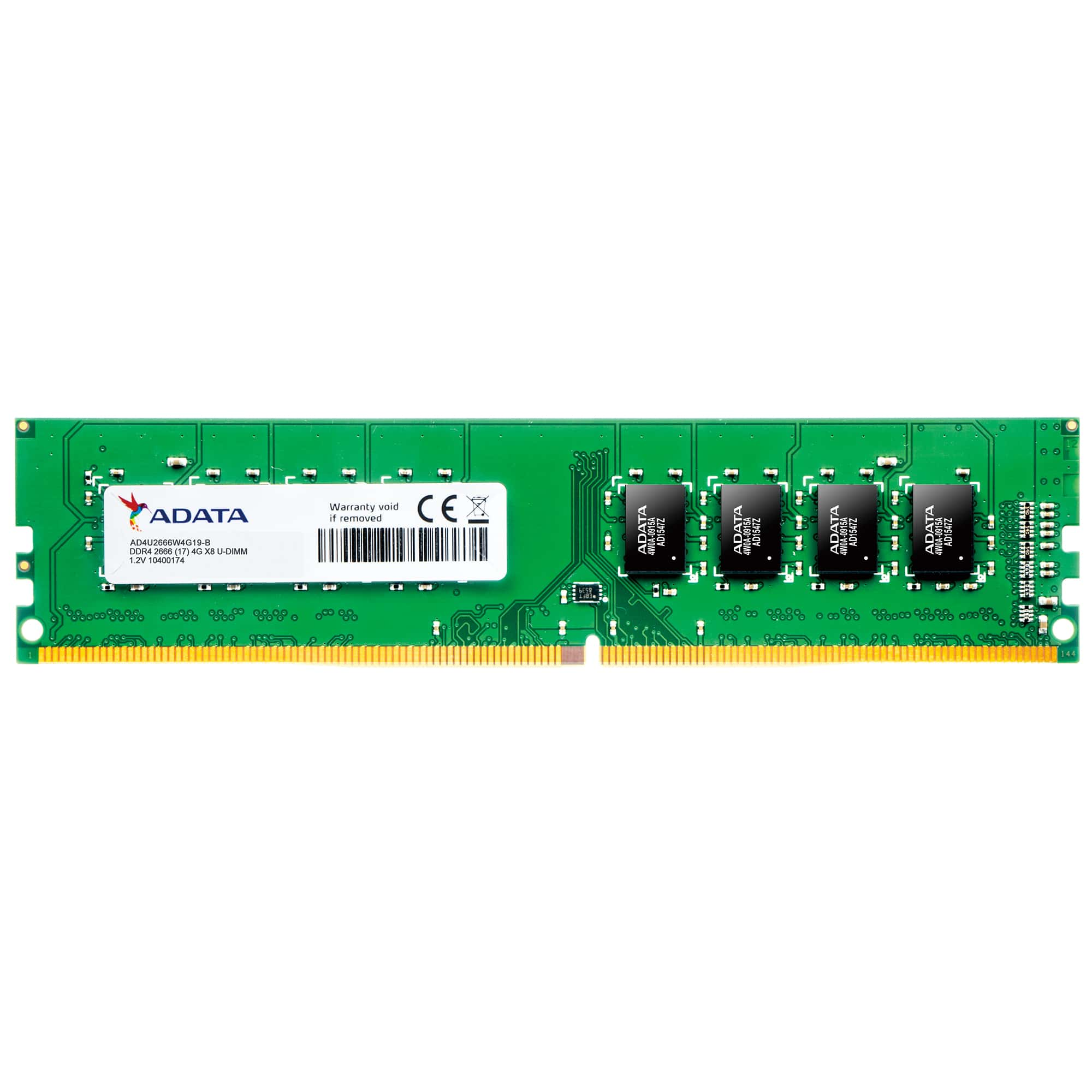 Memorie Desktop A-Data AD4U2666J4G19-R 4GB DDR4 2666MHz CL19