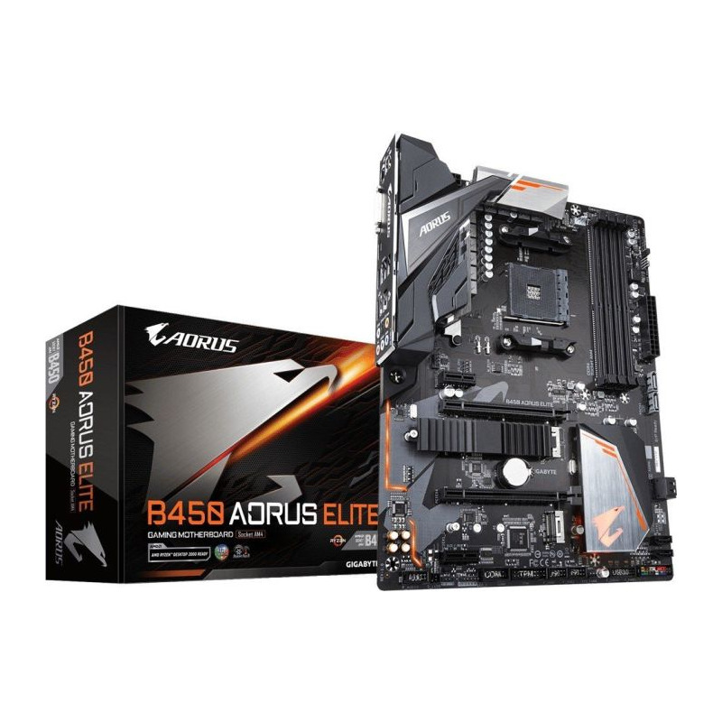 Placa de baza Gigabyte B450 AORUS ELITE socket AM4