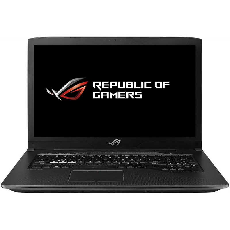 Notebook Asus ROG GL703GE 17.3 Full HD Intel Core i7-8750H GTX 1050 Ti-4GB RAM 8GB HDD 1TB No OS Negru