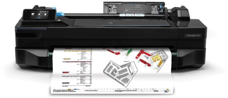 Plotter HP DesignJet T120 ePrinter 2018 Edition 24 A1