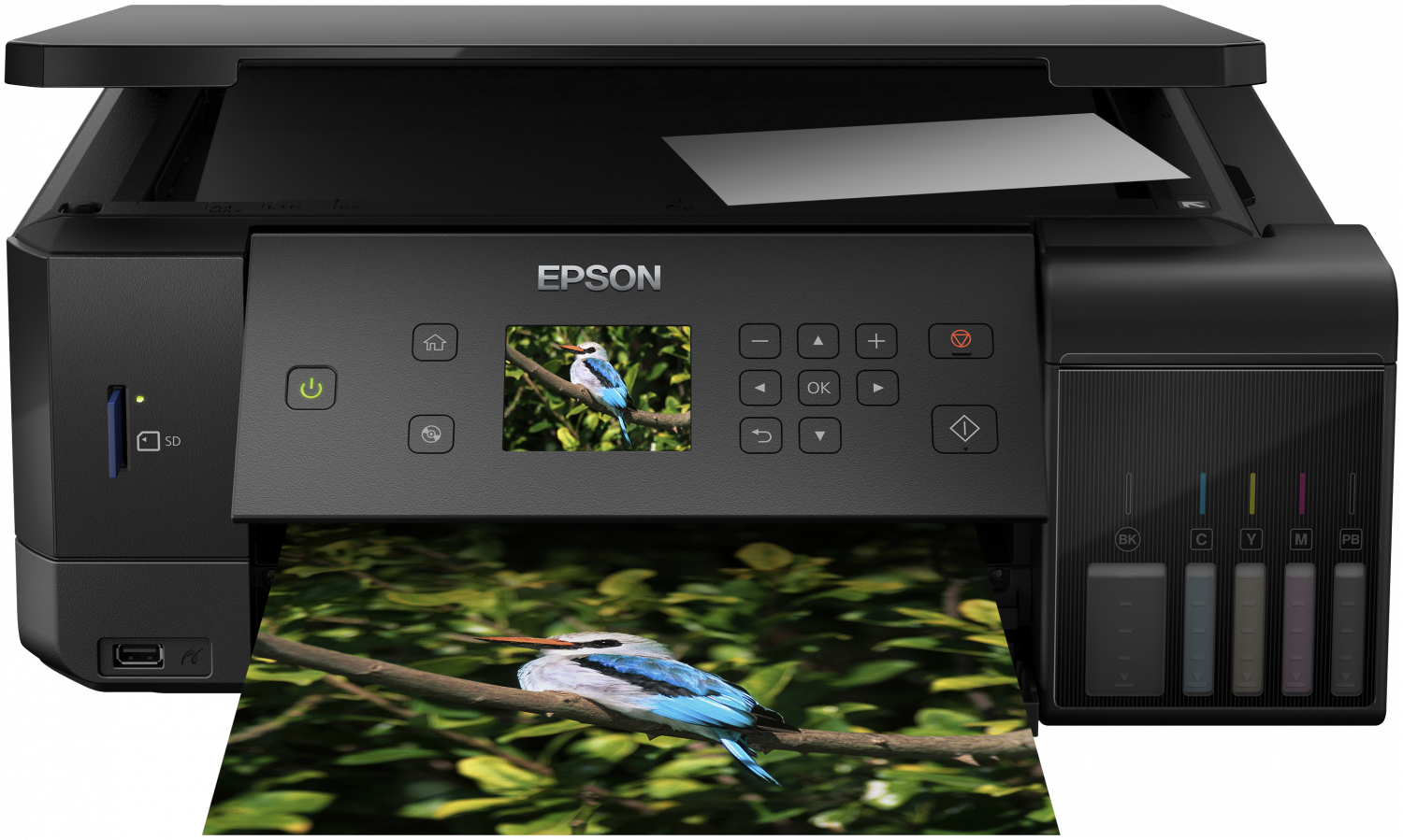 Multifunctional Inkjet Color Epson EcoTank L7160