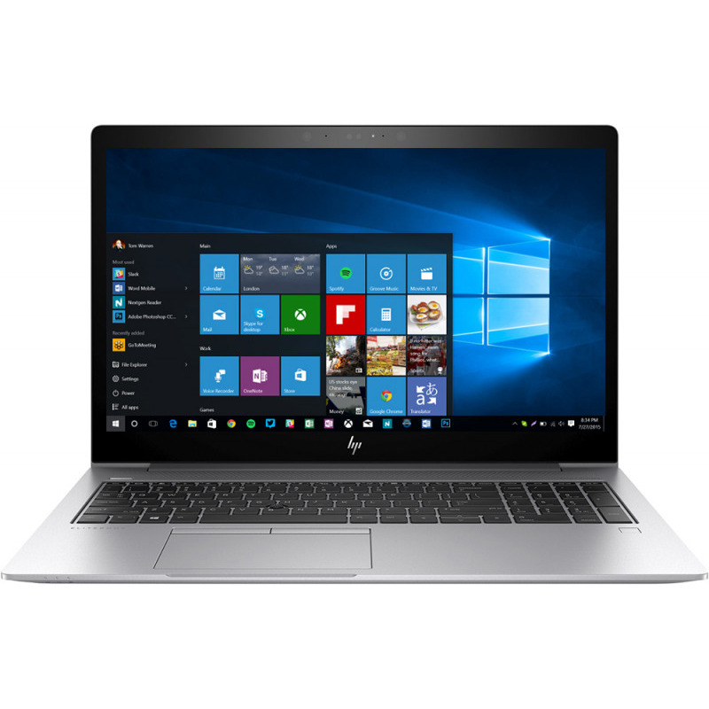 Ultrabook HP EliteBook 850 G5 15.6 Full HD Intel Core i7-8550U RAM 8GB SSD 256GB Windows 10 Pro