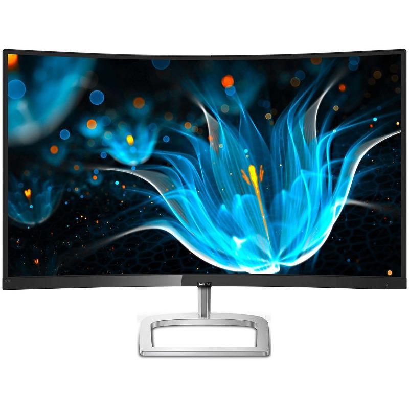 Monitor LED Philips 278E9QJAB/00 27 Curbat 4ms Full HD Negru/Argintiu