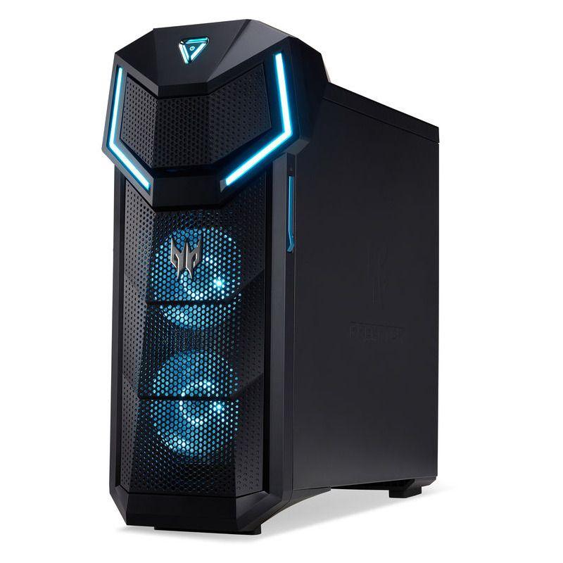 Sistem Brand Acer Predator PO5-610 Intel Core i5-8600K GTX 1070 Ti-8GB RAM 16GB HDD 2TB + SSD 256GB Windows 10 Home