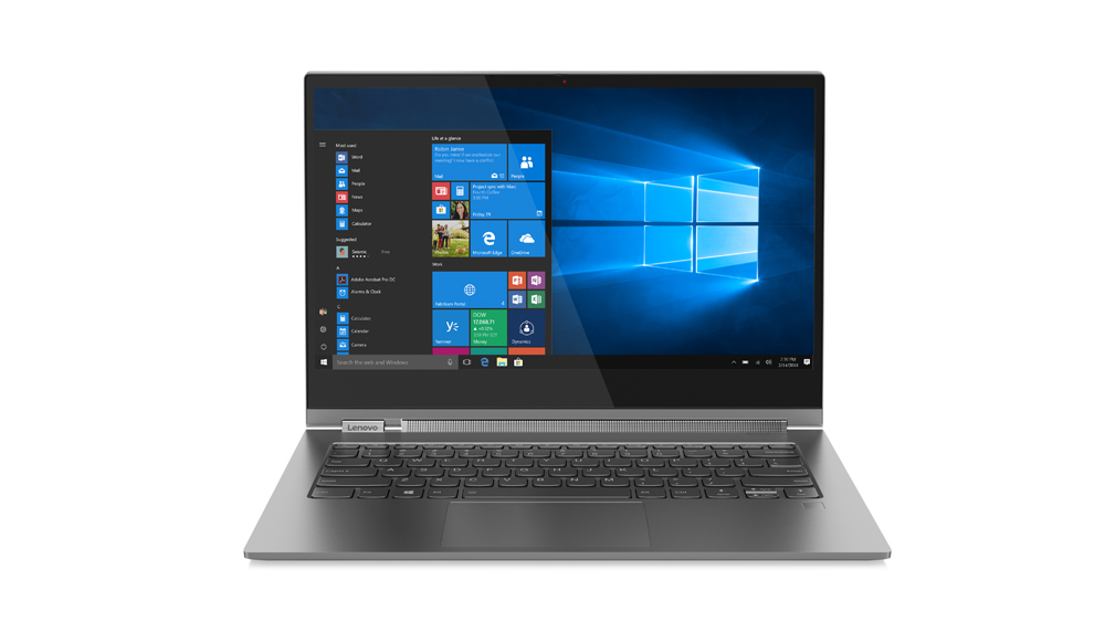 Ultrabook Lenovo Yoga C930 Glass 13.9 Ultra HD Touch Intel Core i7-8550U RAM 16GB SSD 1TB Windows 10 Pro Gri
