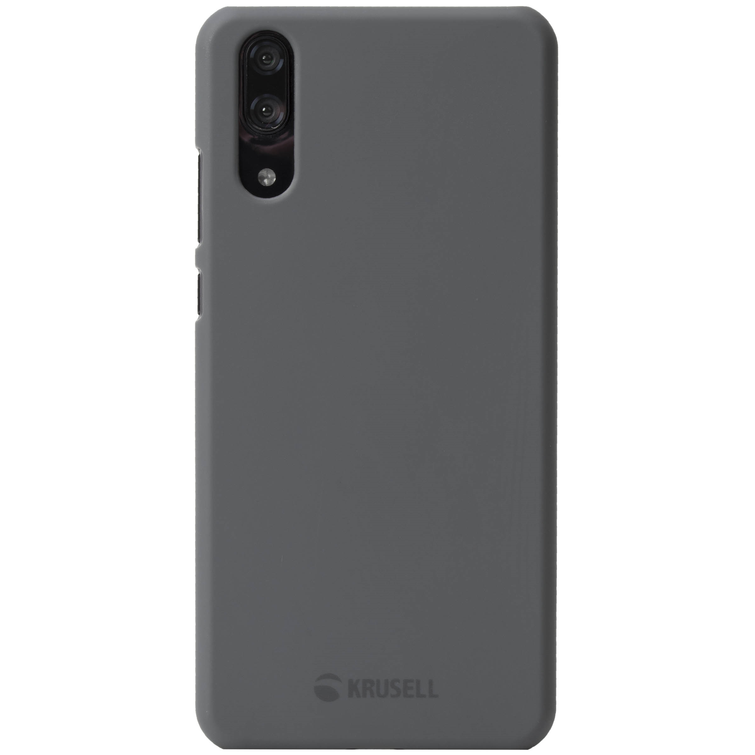 Capac protectie spate Krusell Nora Cover pentru Huawei P20 Gri