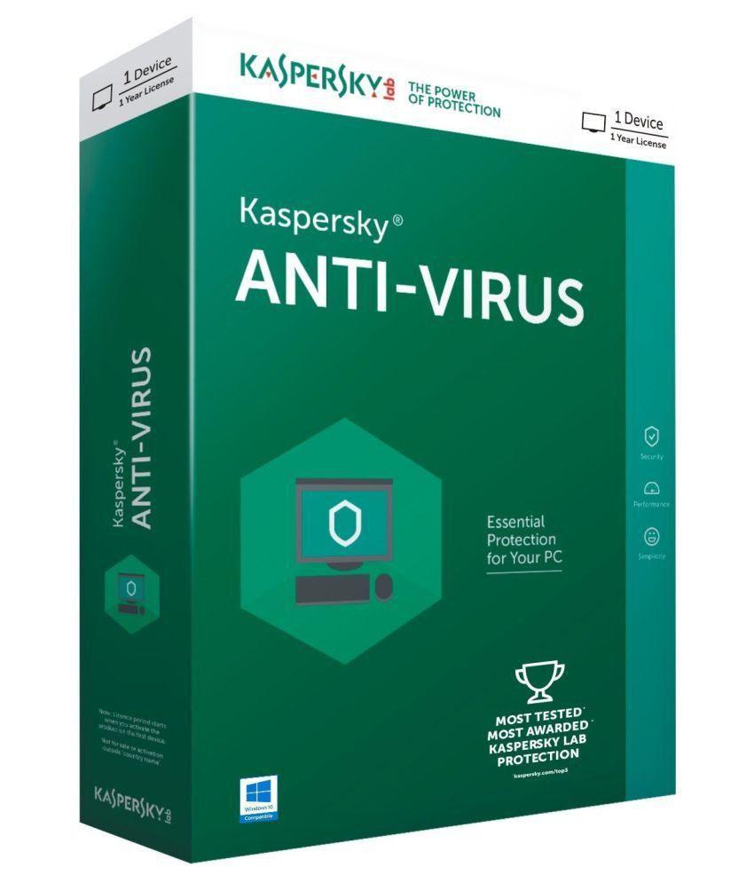 Kaspersky Anti-Virus Licenta Electronica 1 an 3 echipamente Renew