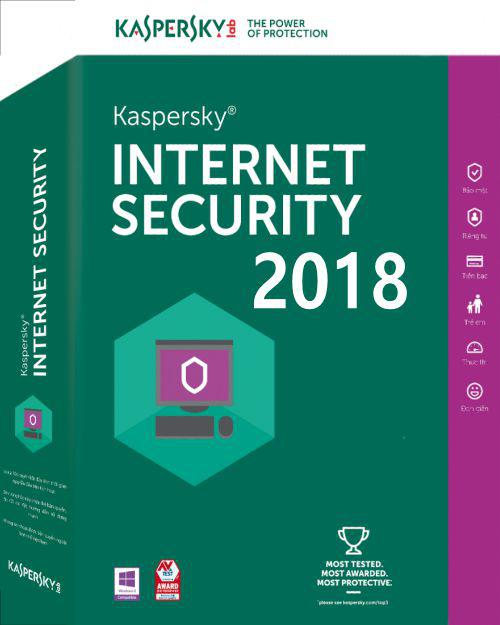 Kaspersky Internet Security 2018 1 PC 1 an New Retail