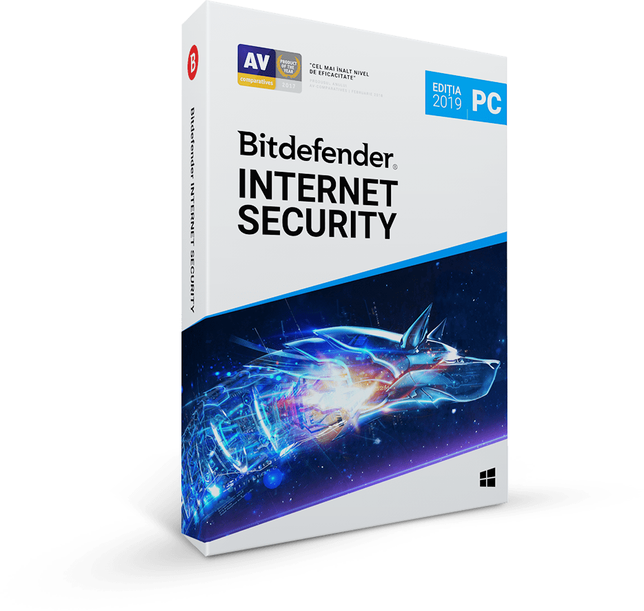 Bitdefender Internet Security 2019 1 an 5 utilizatori Noua Retail