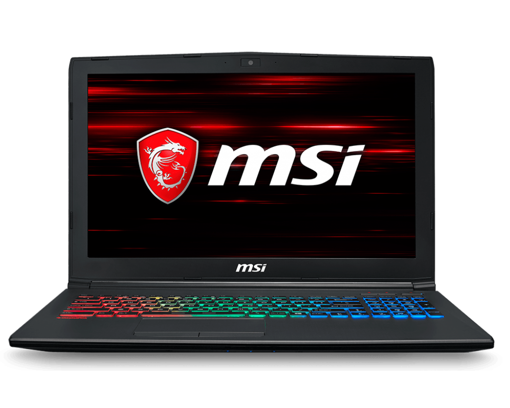 Notebook MSI GF62 8RD 15.6 Full HD Intel Core i5-8300H GTX 1050 Ti-4GB RAM 8GB HDD 1TB + SSD 128GB FreeDOS