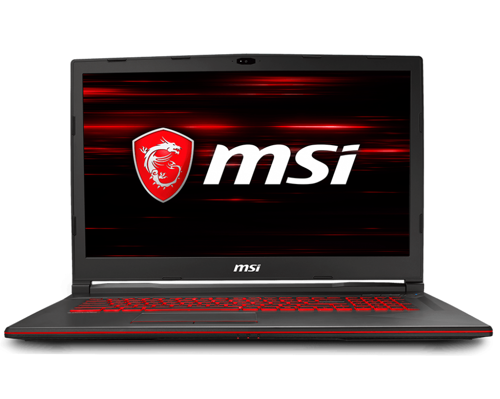 Notebook MSI GL73 8RC 17.3 Full HD Intel Core i7-8750H GTX 1050-4GB RAM 8GB HDD 1TB FreeDOS