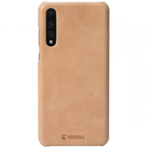 Capac protectie spate Krusell Sunne Cover pentru Huawei P20 Pro Vintage Leather Nude