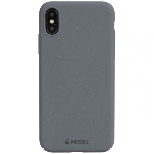 Capac protectie spate Krusell Sandby Cover pentru Apple iPhone XS 5.8″ Gri