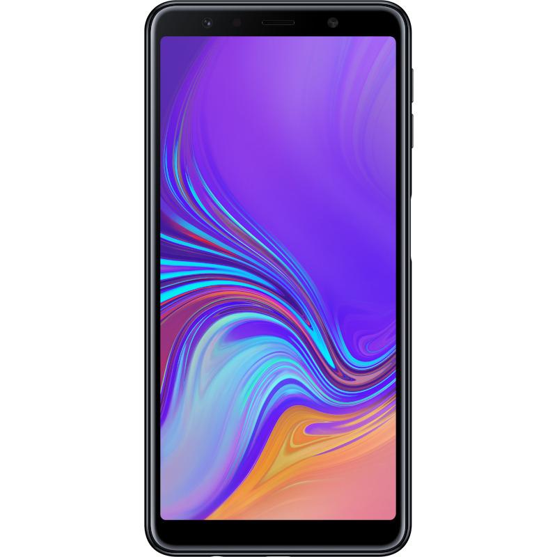 Telefon Mobil Samsung A750 Galaxy A7 (2018) 64GB Flash 4GB RAM Dual SIM 4G Black