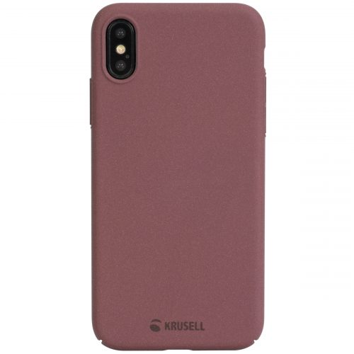 Capac protectie spate Krusell Sandby Cover pentru Apple iPhone XS Max 6.5″ Rust