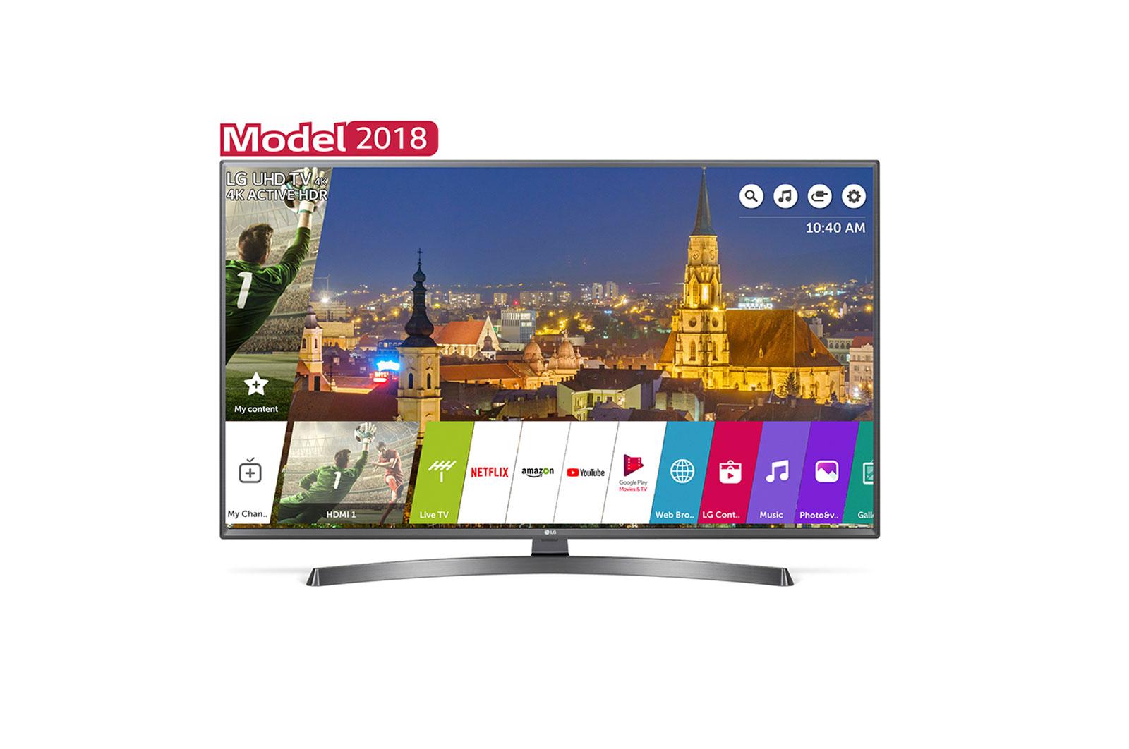 Televizor LED LG Smart TV 50UK6750PLD 126cm 4K Ultra HD Negru