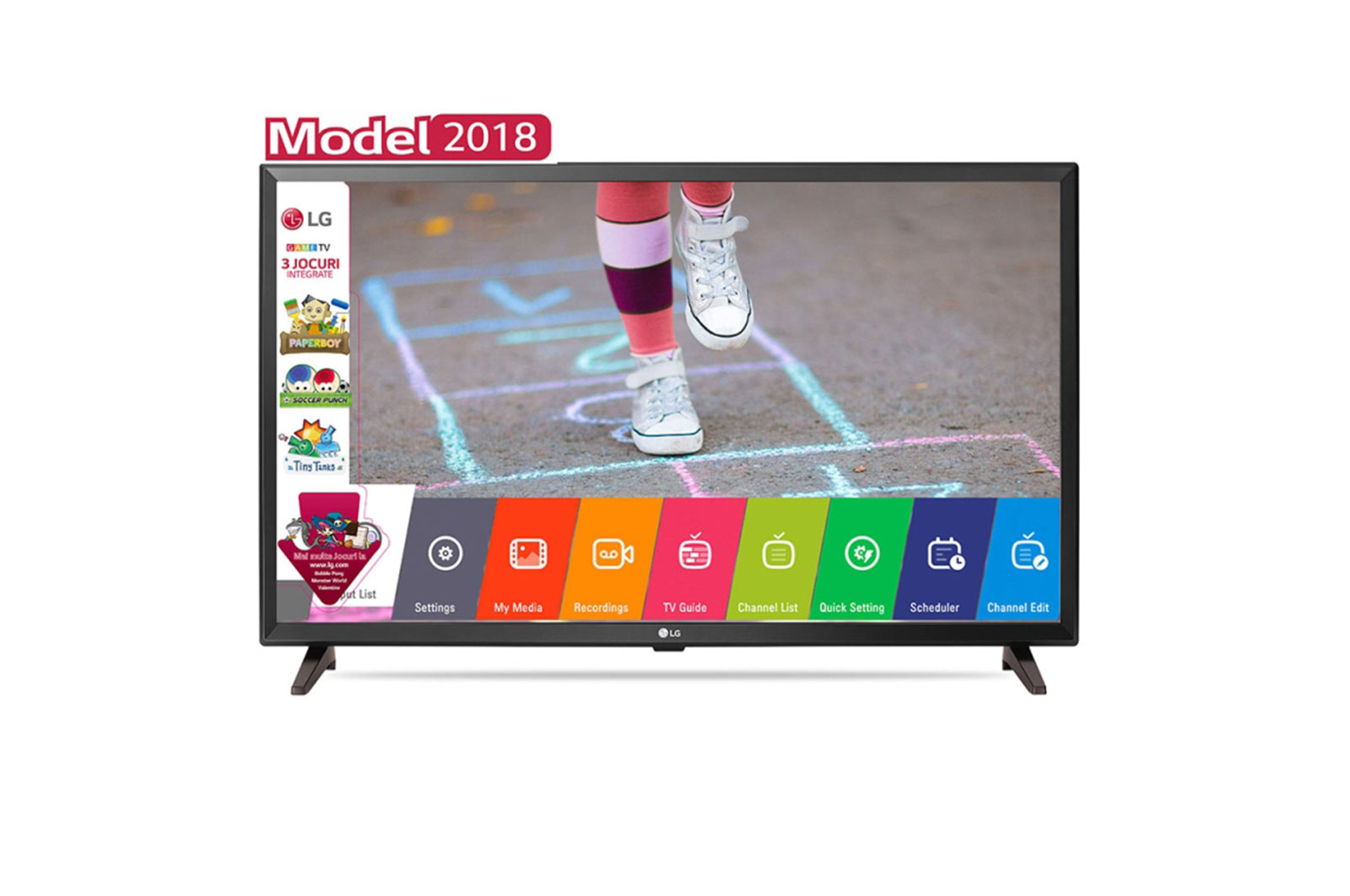 Televizor LED LG 32LK510BPLD 80cm HD Ready Negru