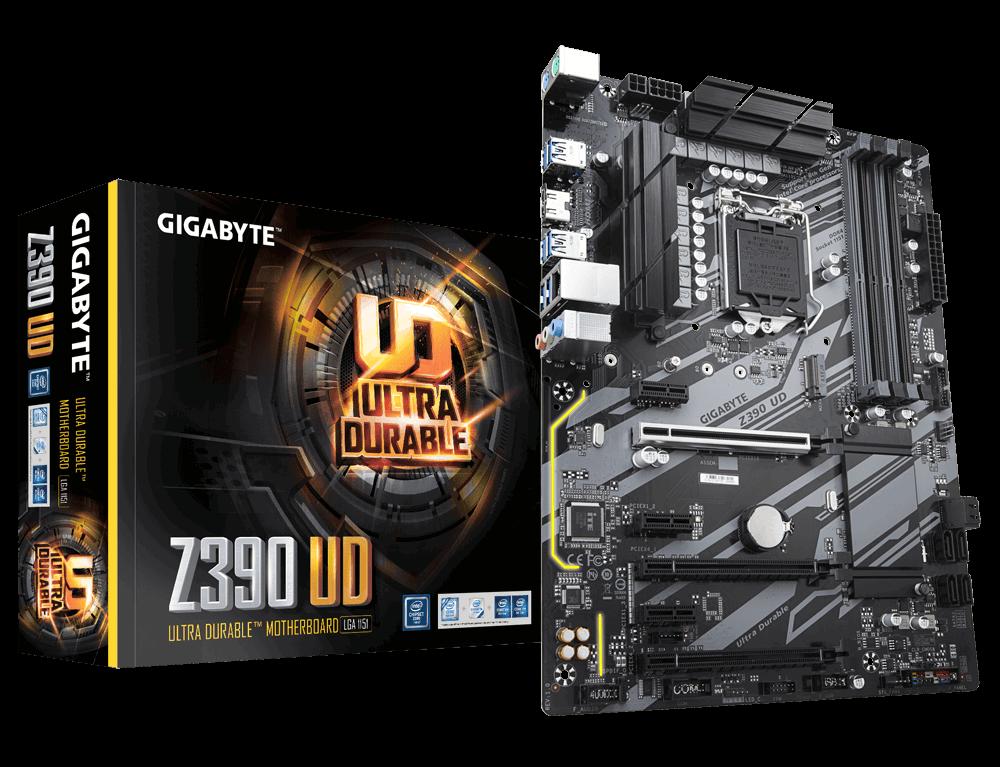 Placa de baza Gigabyte Z390 UD Socket 1151 v2