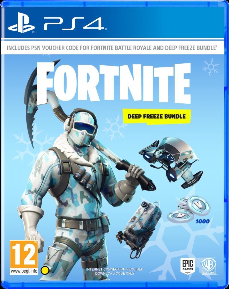 Fortnite Deep Freeze Bundle - PS4